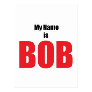 Mi nombre es Bob Postal