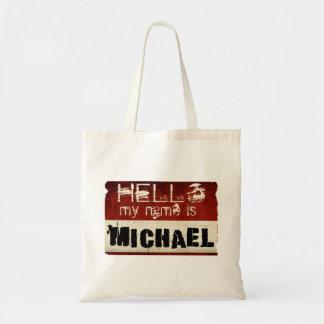 Mi nombre es bolsos de Michael Bolsa Tela Barata