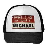 Mi nombre es gorra de Michael