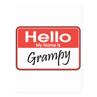 Mi nombre es Grampy Postal