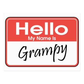 Mi nombre es Grampy Tarjeta Postal