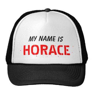 Mi nombre, es HORACIO Gorras