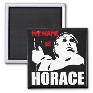 mi nombre es Horacio Imán Cuadrado