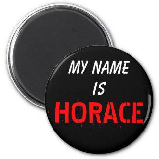Mi nombre, es HORACIO Imán Redondo 5 Cm