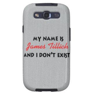 Mi nombre es James Tillich Samsung Galaxy SIII Funda