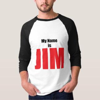 Mi nombre es Jim Playera