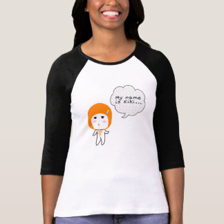 Mi nombre es Kiki - señoras 3/4 raglán de la manga Camiseta