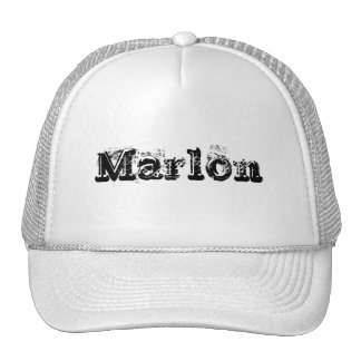 Mi nombre es Marlon Gorra