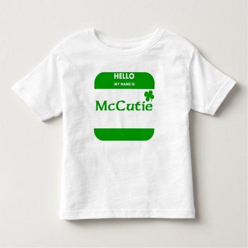 Mi nombre es McCutie T Shirts