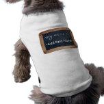 Mi nombre es - ropa personalizada de los mascotas camisas de perritos