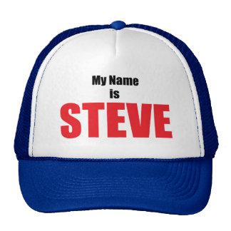 Mi nombre es Steve Gorros