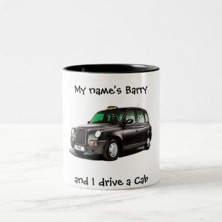 Mi nombre es .............. y conduzco un taxi tazas de café