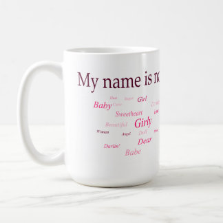 Mi nombre no es (la taza) taza