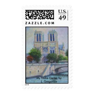 Mi Notre Dame, por L. Gregorian Sellos