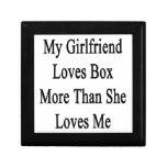 Mi novia ama la caja más que ella me ama caja de joyas