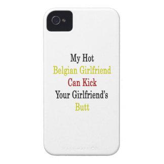 Mi novia belga caliente puede golpear a su novia Case-Mate iPhone 4 cobertura