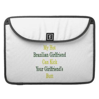 Mi novia brasileña caliente puede golpear su Girlf Funda Macbook Pro