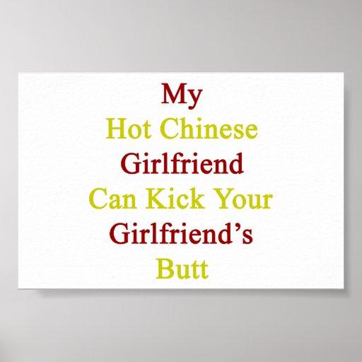Mi novia china caliente puede golpear a su novia c impresiones