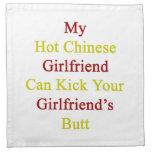 Mi novia china caliente puede golpear a su novia c servilletas