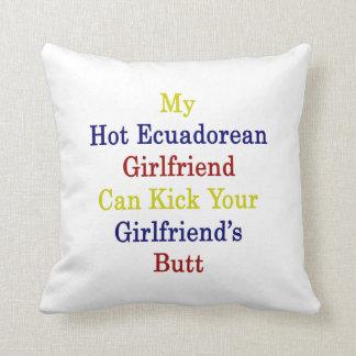Mi novia ecuatoriana caliente puede golpear su Gir Almohadas