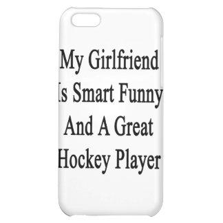 Mi novia es divertida elegante y un gran hockey Pl