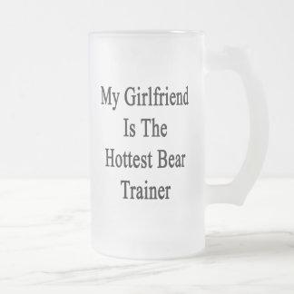 Mi novia es el instructor más caliente del oso tazas de café