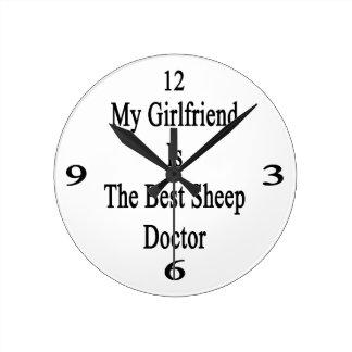 Mi novia es el mejor doctor de las ovejas reloj