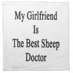 Mi novia es el mejor doctor de las ovejas servilleta