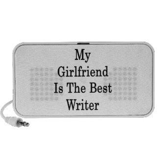 Mi novia es el mejor escritor mp3 altavoces