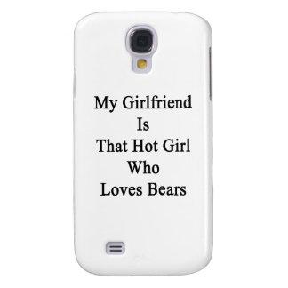 Mi novia es ese chica caliente que ama osos