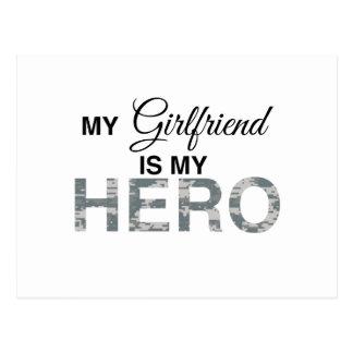 Mi novia es mi camuflaje de Digitaces del héroe Tarjeta Postal
