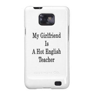 Mi novia es profesor de inglés caliente galaxy SII carcasas