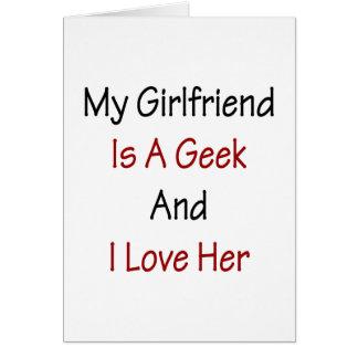 Mi novia es un friki y la amo tarjeta