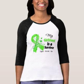 Mi novia es un superviviente del linfoma camisetas