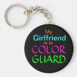 Mi novia está en guardia de honor llaveros personalizados
