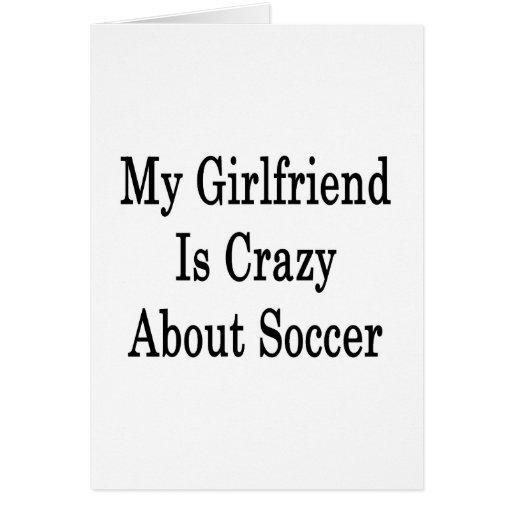 Mi novia está loca por fútbol tarjetas