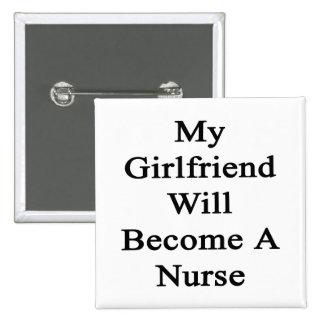 Mi novia hará enfermera pins