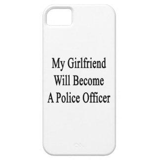 Mi novia hará oficial de policía iPhone 5 Case-Mate carcasas