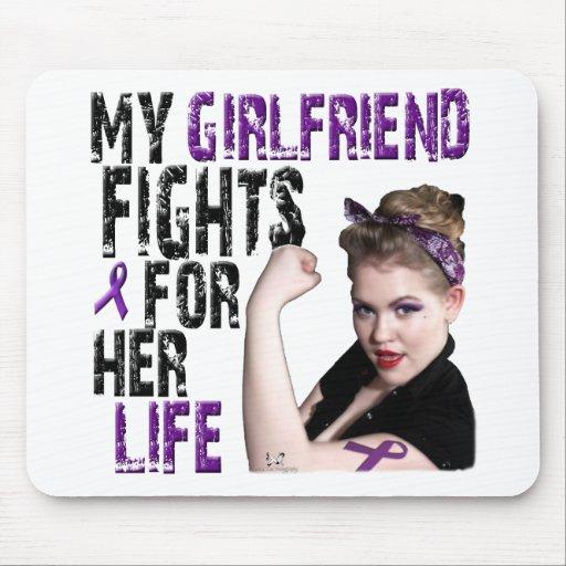 Mi NOVIA lucha para su vida… Alfombrillas De Raton