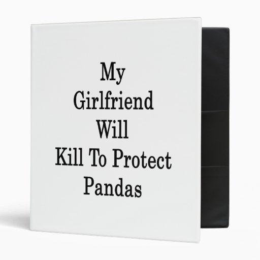 Mi novia matará para proteger pandas