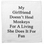 Mi novia no cura los monos para la vida de A Sh Servilletas De Papel