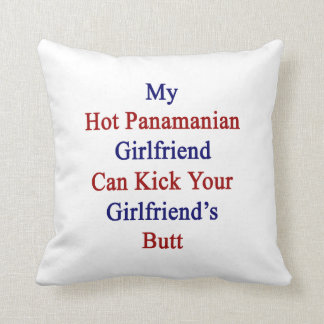 Mi novia panameña caliente puede golpear su Girlfr Almohada