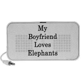 Mi novio ama elefantes altavoz de viaje