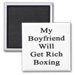 Mi novio conseguirá el boxeo rico iman de frigorífico
