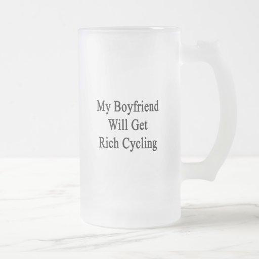 Mi novio conseguirá el ciclo rico taza de café