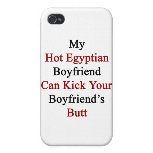 Mi novio egipcio caliente puede golpear su Boyfrie iPhone 4 Funda