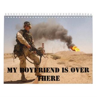 Mi novio es allí calendario