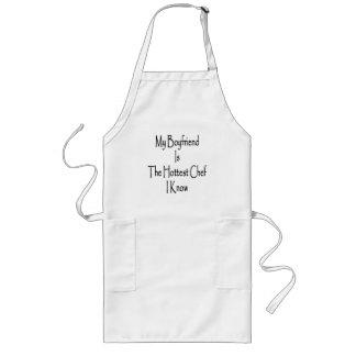 Mi novio es el cocinero más caliente que conozco delantal largo