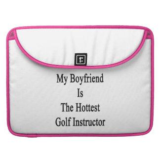 Mi novio es el instructor más caliente del golf funda macbook pro