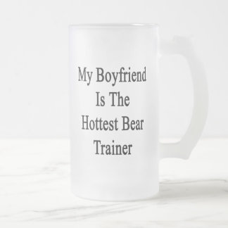 Mi novio es el instructor más caliente del oso tazas